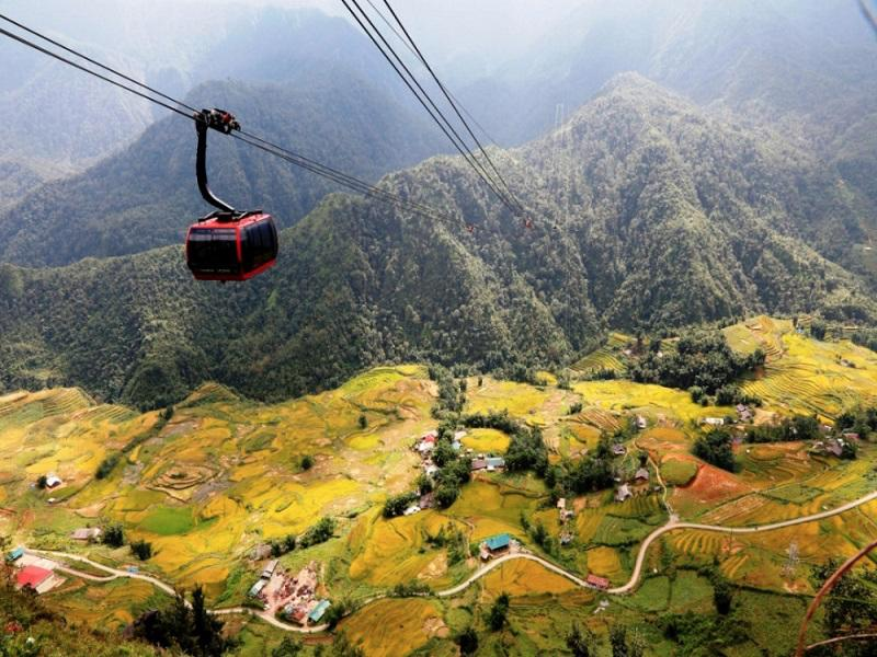 Fansipan by cable car – Sin Chai village