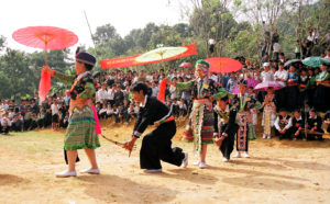 The traditional culture of ethnic people