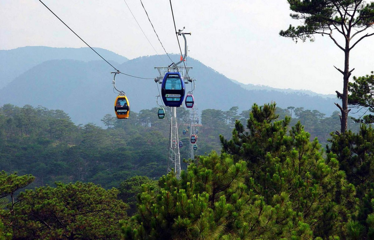 Pricing cable car station Sapa in Fansipan 2018